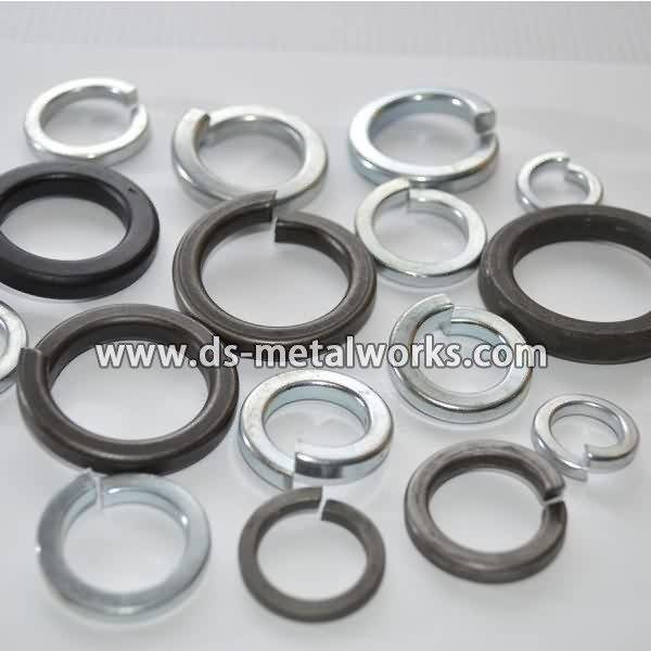 A307 B Heavy Hex Bolts Price -  ASME B18.21.1 Lock Washer – Dingshen Metalworks detail pictures