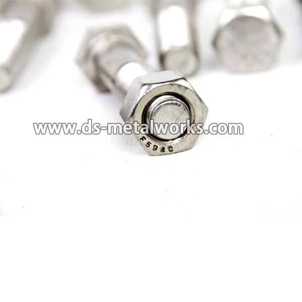 Special Price for A2-70 A4-70 ASTM F594 Stainless Steel Hex Nuts to Lisbon Manufacturer detail pictures
