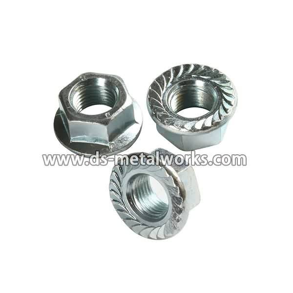 OEM Customized wholesale DIN-6923-Stainless-Steel-304-A2-70-Hexagon-Flange-Nut to Mexico Manufacturer