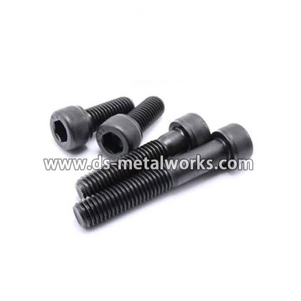 factory wholesale good quality DIN912 ISO4762 AMSE B18.3 Hexagon Socket Head Cap Screws for Cambodia Manufacturer