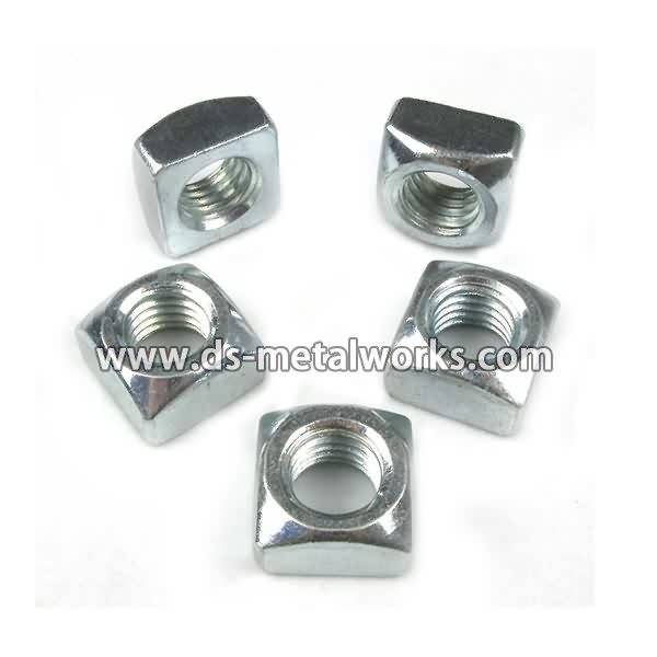 8 Years Manufacturer DIN557, ASME B18.2.2 Square Nuts to Denmark Manufacturer