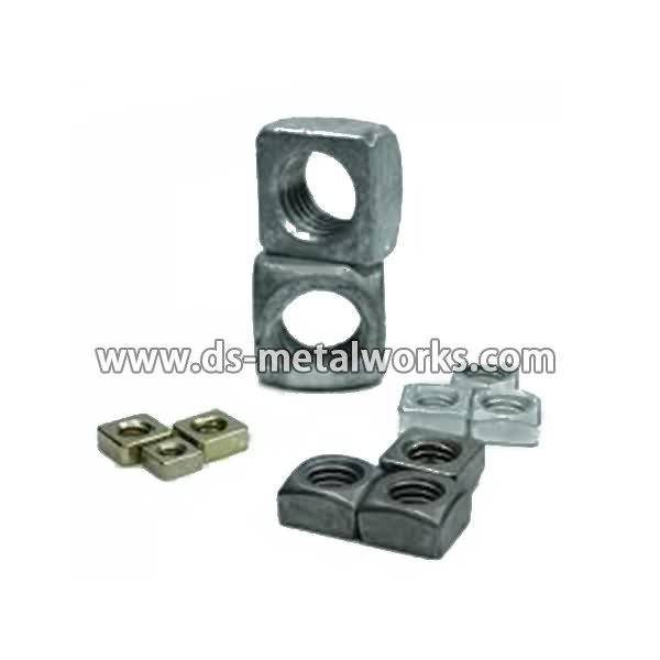 OEM/ODM Manufacturer DIN557, ASME B18.2.2 Square Nuts for Bogota Manufacturers detail pictures