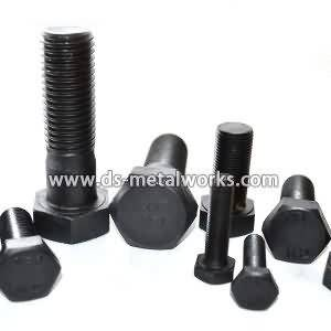 Factory supplied DIN933 Din609 ISO4017 JIS1180 Metric Hex Head Bolts to Tunisia Factories