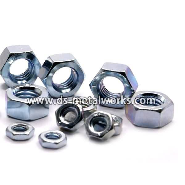 DIN934, ISO4032, ISO4033, BS 3692, BS4190 Metric Hex Nuts