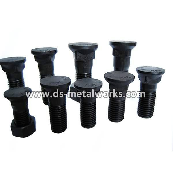 OEM Manufacturer Plow Bolts with Nuts to Indonesia Manufacturer