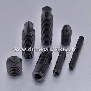 8 Year Exporter Alloy Steel 33H 45H Socket Set Screws to Denver Manufacturer