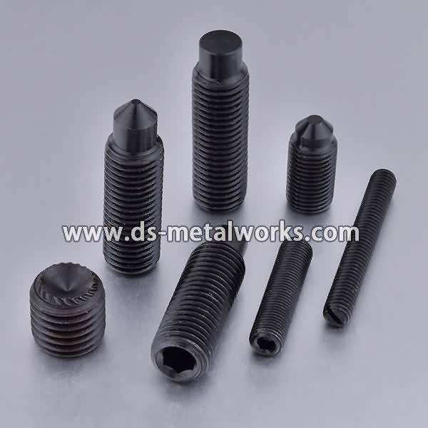 China Cheap price Alloy Steel 33H 45H Socket Set Screws for Germany Importers