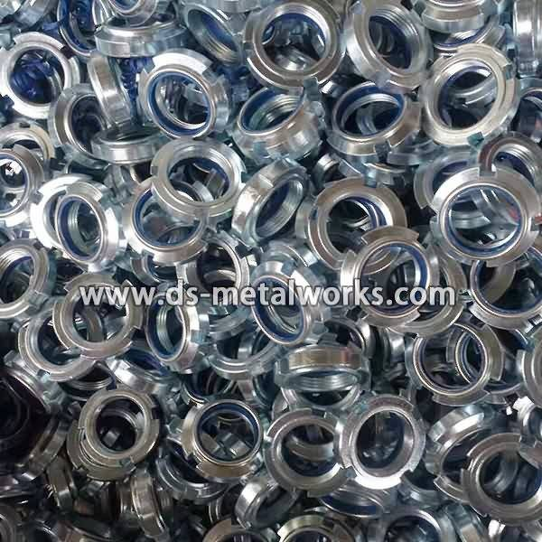 Wholesale Dealers of DIN 981, DIN 1805 Round Slotted Shaft Lock Nuts to Jamaica Importers detail pictures