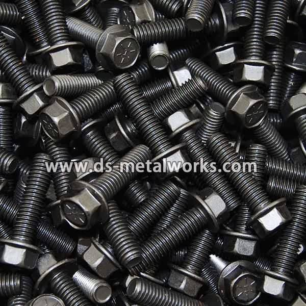 Manufacturer of  DIN6921 ISO4162 Hexagon Flange Bolts and Screws for Romania Factories
