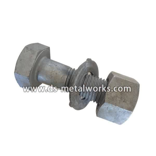 China Professional Supplier BS4395 High strength friction grip bolts with Nuts and Washers Supply to Egypt