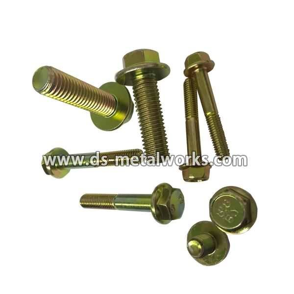 Short Lead Time for DIN6921 ISO4162 Hexagon Flange Bolts and Screws for Russia Factory detail pictures