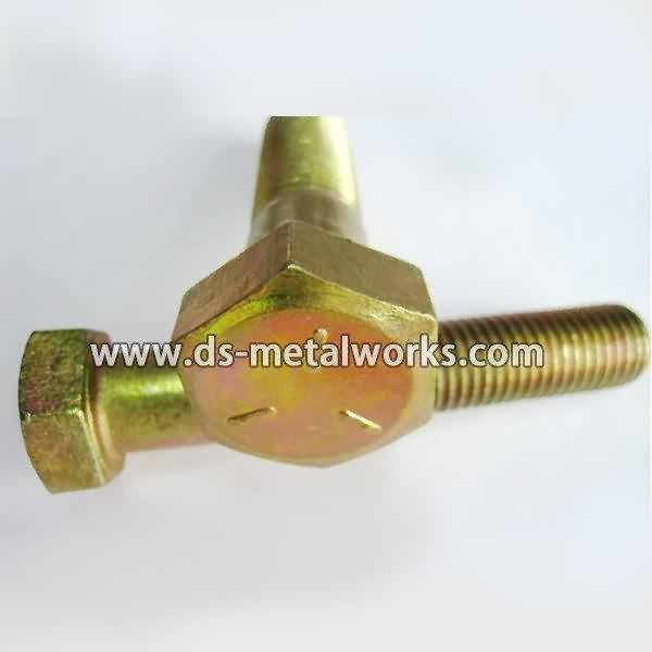 Ordinary Discount SAE J429 Grade 5 Hex bolts to Portugal Factories