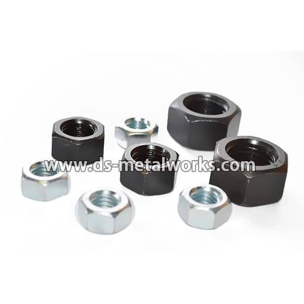 Popular Design for SAE J995 Grade 2, 5, 8 Finished Hex Nuts detail pictures