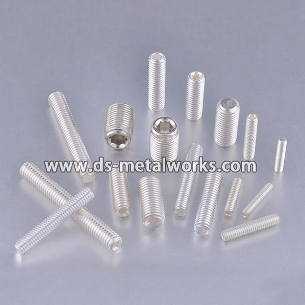Sliver or Tin Plated Set Screws