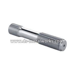 Din2510 Double End Studs pẹlu din Shank pẹlu hexagon Eso