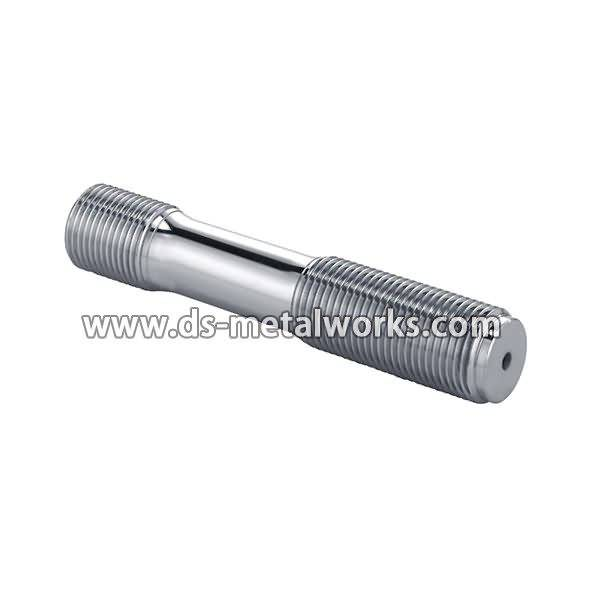 Wholesale price for Din2510 Double End Studs with Reduced Shank with Hexagon Nuts for Indonesia Factories