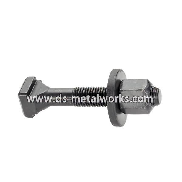 Holding Down Bolts Price - DIN261 DIN787 DIN186 ASME B18.5 AWWA C111-A21.11 T Bolts – Dingshen Metalworks detail pictures