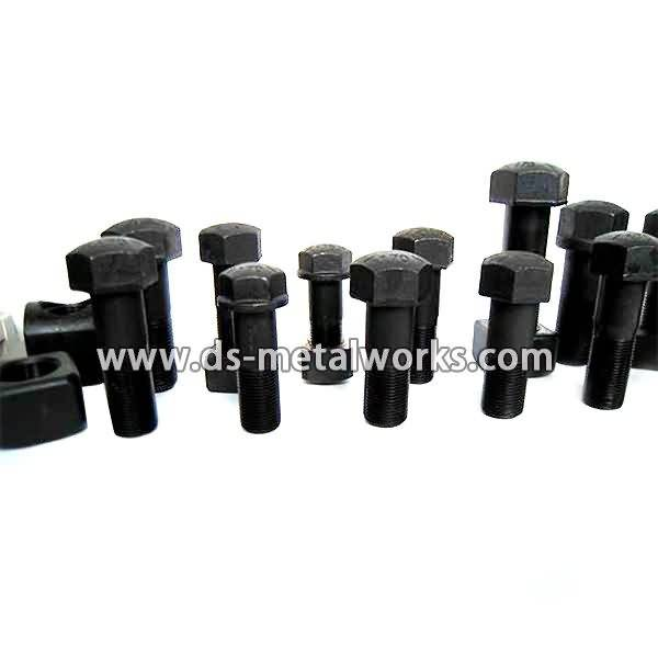 OEM Manufacturer Track Shoe Bolts with Nuts to Nairobi Manufacturer