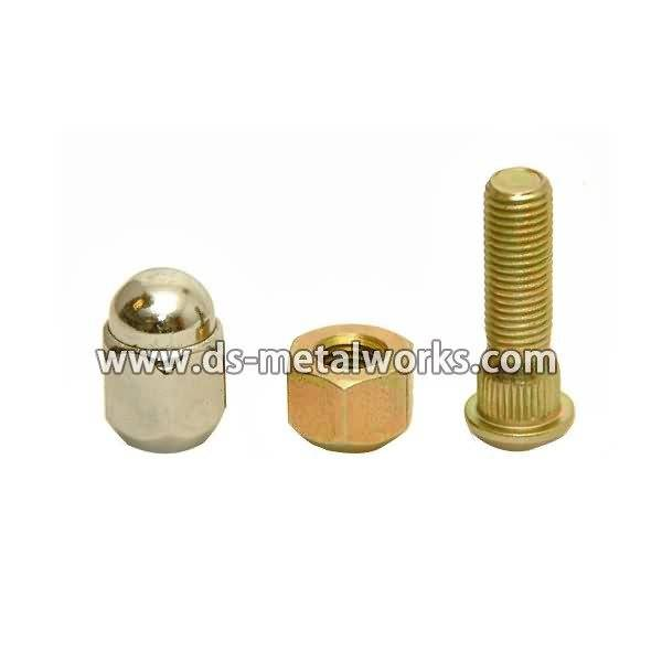 professional factory provide Wheel Hub Stud Bolts and Nuts Export to Belgium detail pictures