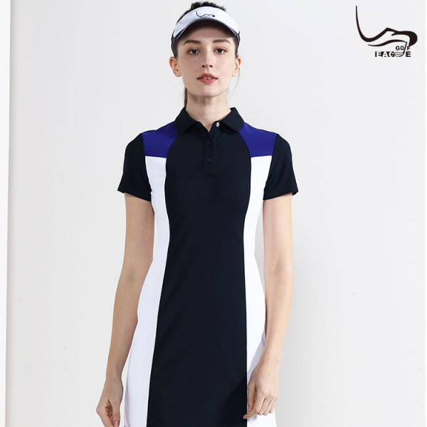 Women new design short sleeve not shrinking casual polo shirt