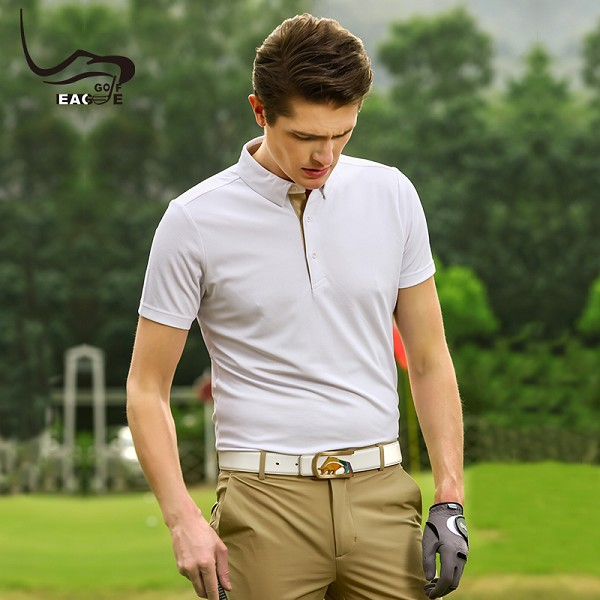 Top quality men comfortable sportswear dry fit golf polo shirt