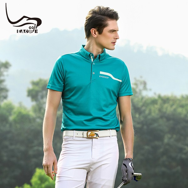 wholesale new design polo short sleeves man sport teeshirt