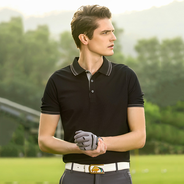 ew design 2019 Summer outdoor men's polo shirt quick-dry