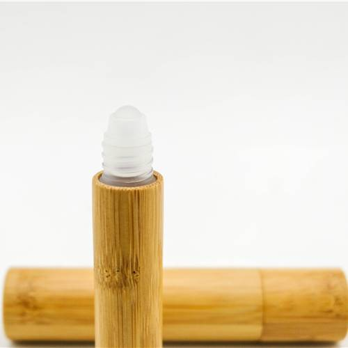 Silkscreen Roll On Bamboo Perfume Bottle Professional Design Wholesale Roll On Bamboo Decoration Bottle