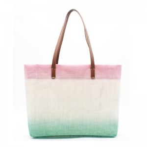 Eccochic Design Ombre Jute Beach Bag
