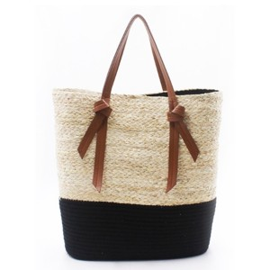 Hot sale Straw Basket Beach Bag - Eccochic Design Ladies Summer Maize Beach Tote Bag – Eccochic