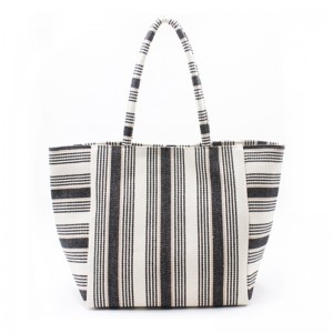 Eccochic Design Giant Pocket Stripe Tote Baga
