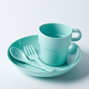 Eco-friendly Compostable CPLA Reusable Tableware