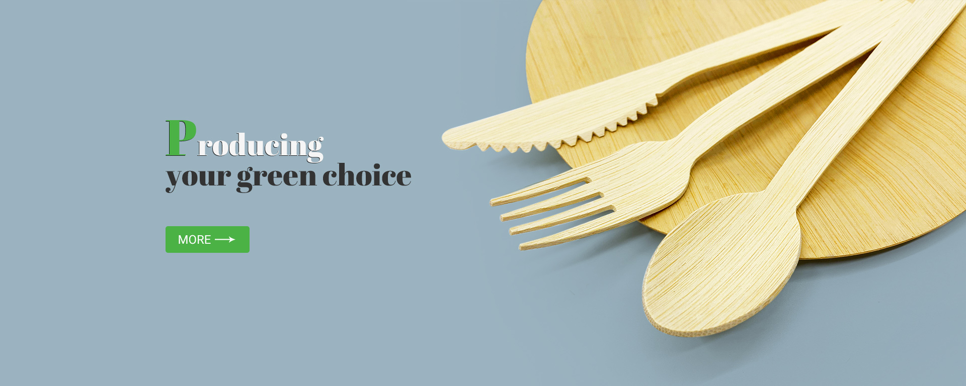 Bamboo & Wooden Cutlery