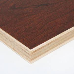 Edlon decorative colored melamine laminated plywood sheets for cabinet