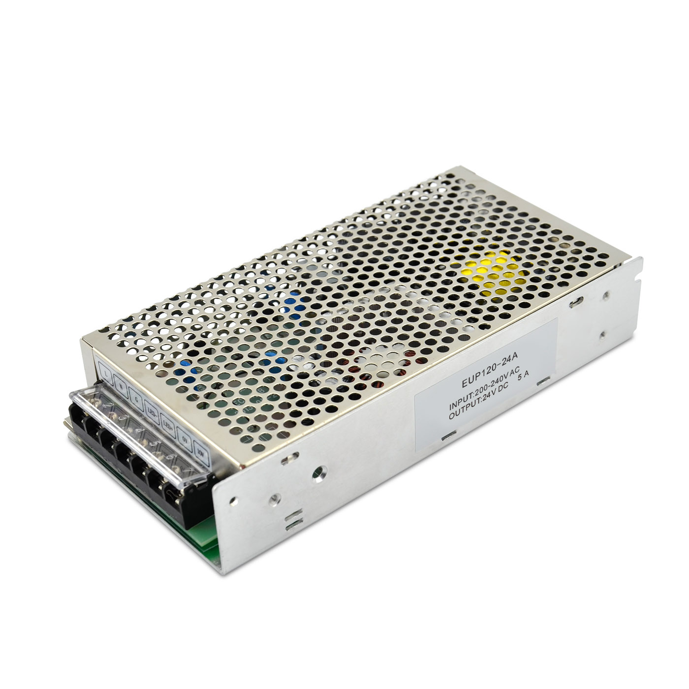 120W 24VDC 1-10v Dimming LED Driver EUP120-24A Featured Image