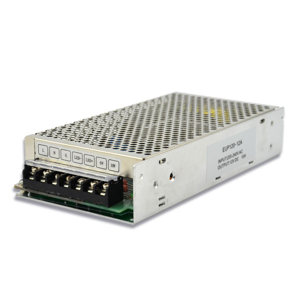 120W 12VDC Constant Voltage Dimmable Driver EUP120-12A Featured Image