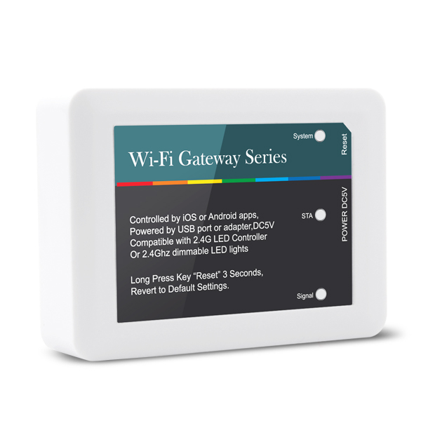 5VDC 2.4Ghz Gateway LED WIFI Controller
