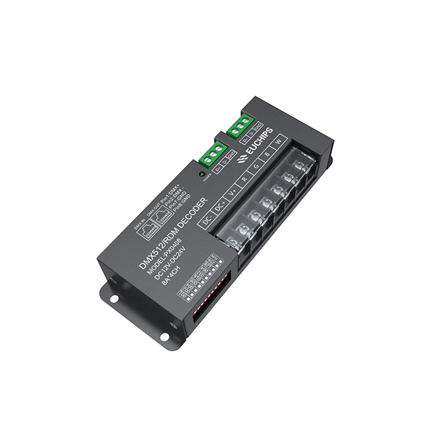 12-24VDC 8A*4ch DMX512/RDM RGBW Decoder Featured Image