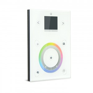 OEM/ODM China Dmx Dimmer 1ch – PC+Stand Alone 512*2ch USB+ETHERNET DMX Touch Panel Controller DMX-P06 – Euchips