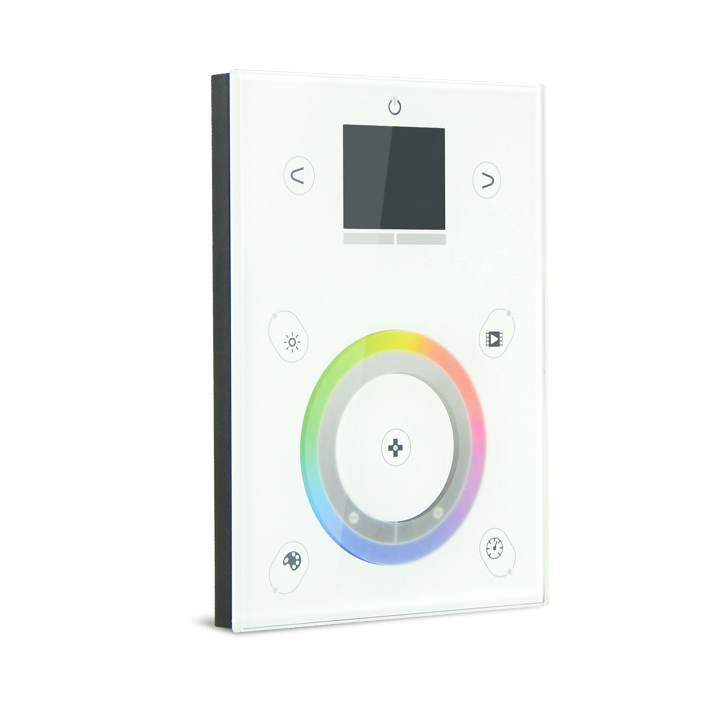 OEM/ODM China Dmx Dimmer 1ch – PC+Stand Alone 512*2ch USB+ETHERNET DMX Touch Panel Controller DMX-P06 – Euchips detail pictures