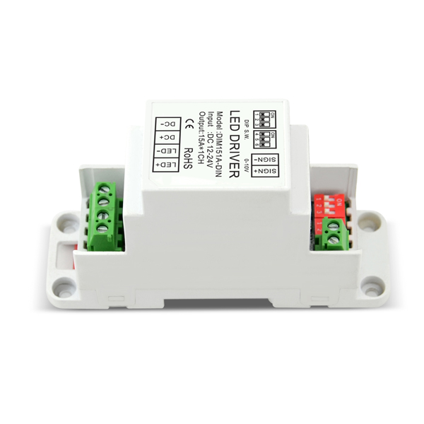 Factory Directly supply Dim 150w Linear High Bay – 12-24VDC 15A*1ch CV 0-10V Dimmer – Euchips