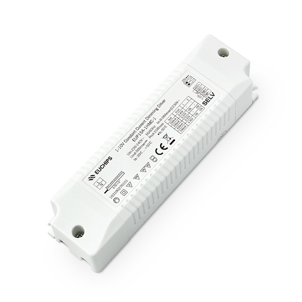 OEM China Dimmable 12v Led Transformer – 350/400/450/500mA 15W CC 1-10V Driver  – Euchips Featured Image