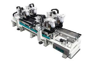 ET0724 High-Speed ​​Throughfeedʻeli Machine