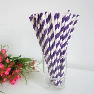 Wholesale Pollution-free Paper Straws Custom For Drinking