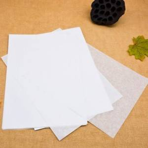 Unique Yellow Unbleached Glassine Acid Free Tissue Paper