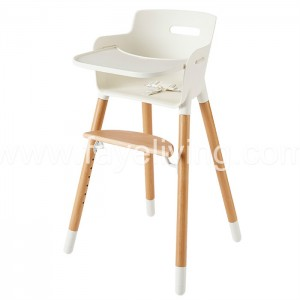 Modern Wood Baby Feeding Chair Baby High Chair
