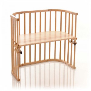 Wooden Baby Sleeper Bed Attached to Parents' Bed