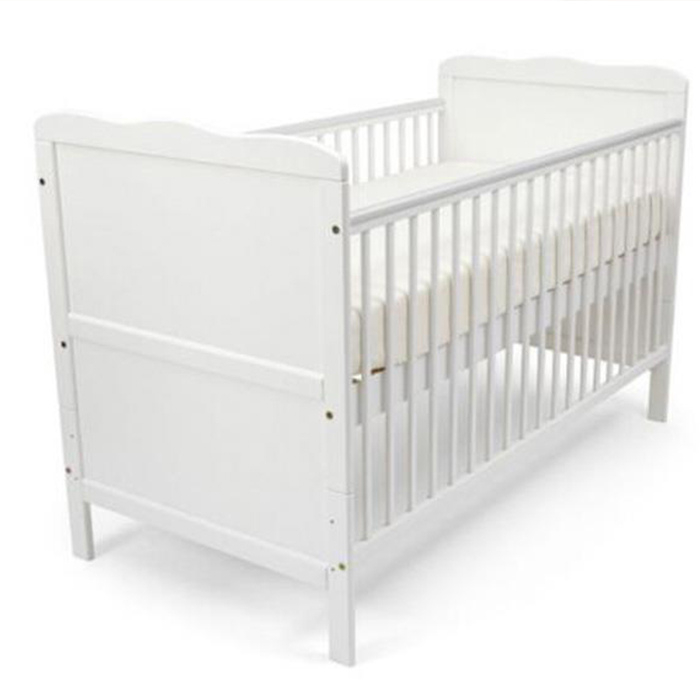 2in1 Wooden Baby Bed Nursery Furniture Baby Crib Featured Image
