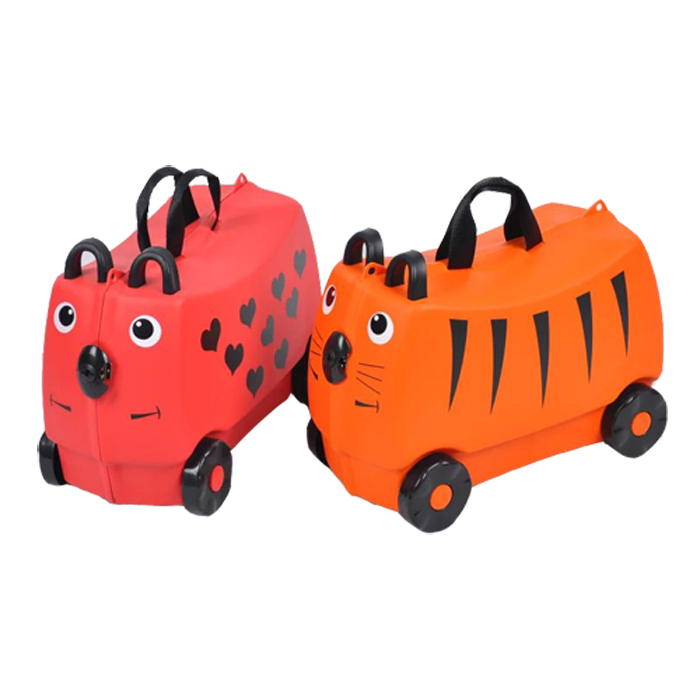 Kids Ride on Luggage Toys Storage Box Suitcase Featured Image