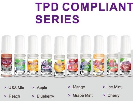 TPD compliant feellife eliquid